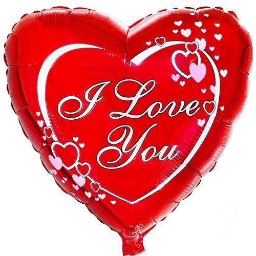 Фольгированный шар I Love You #403
