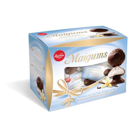 Зефир в шоколаде Maigums ванильный 185g #416