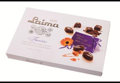 Темный шоколад конфеты LAIMA 215g #410